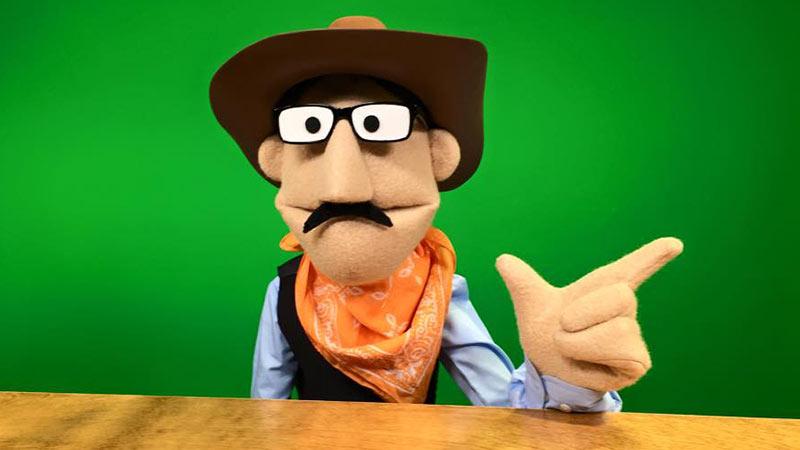 Cowboy Puppet