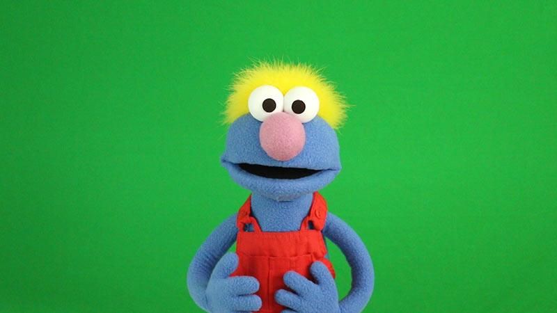 tex a muppet style puppeet