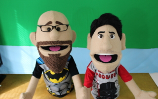 Custom people puppets,portrait